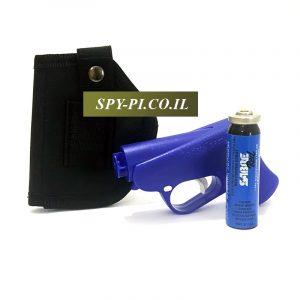 ערכת אקדח גז פלפל עם נרתיק